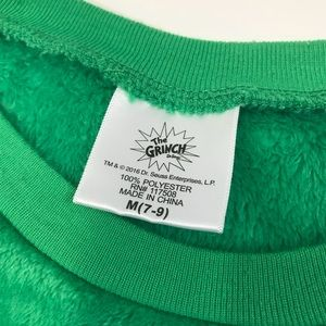 Dr. Suess Sweaters - [Dr. Suess] Grinch Sweater & Panty Bundle